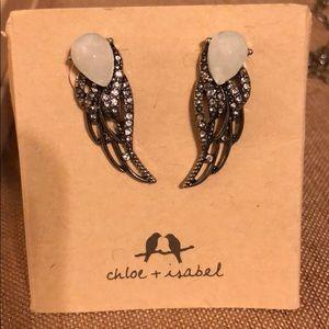 Chloe + Isabel Silverwing earrings